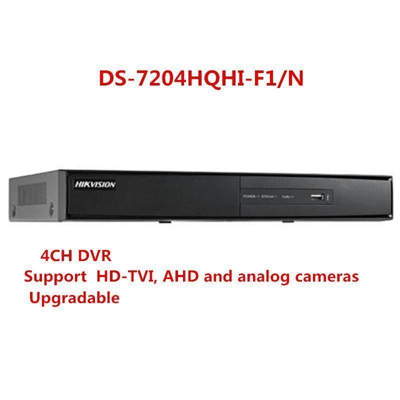 Hik DS-7204HQHI-F1/N 4CH Turbo HD DVR Support HD-TVI AHD Analog Cameras hik повседневные брюки