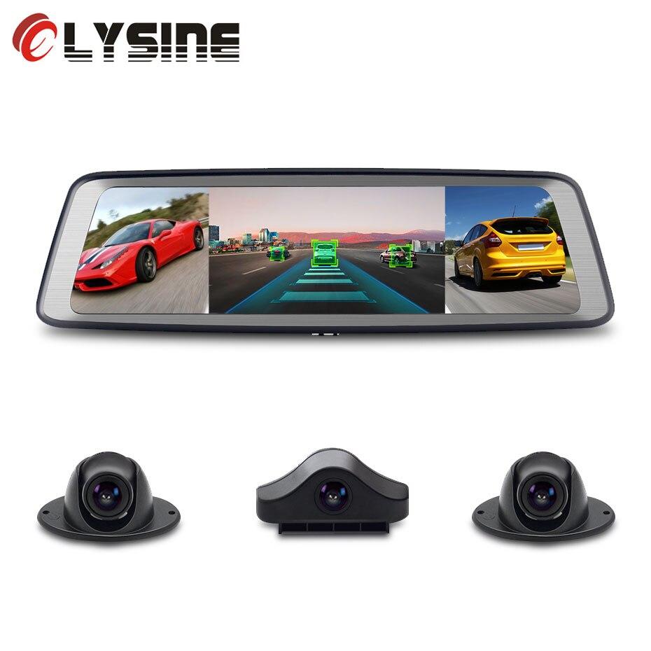 Olysine 4CH caméra lentille Android voiture DVR 10