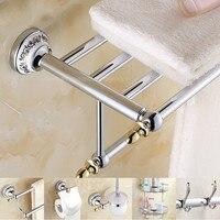Антикварный серебряный кулон фарфоровая Аксессуары для ванной комнаты Комплект Керамика База цинковый сплав Аксессуары для ванной набор Т