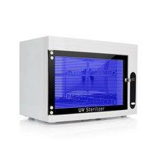 שכבה כפולה חשמלי UV מעקר קבינט עיקור נירוסטה נייל יופי אמנות ציוד בטיחות סט לחסוך בחשמל