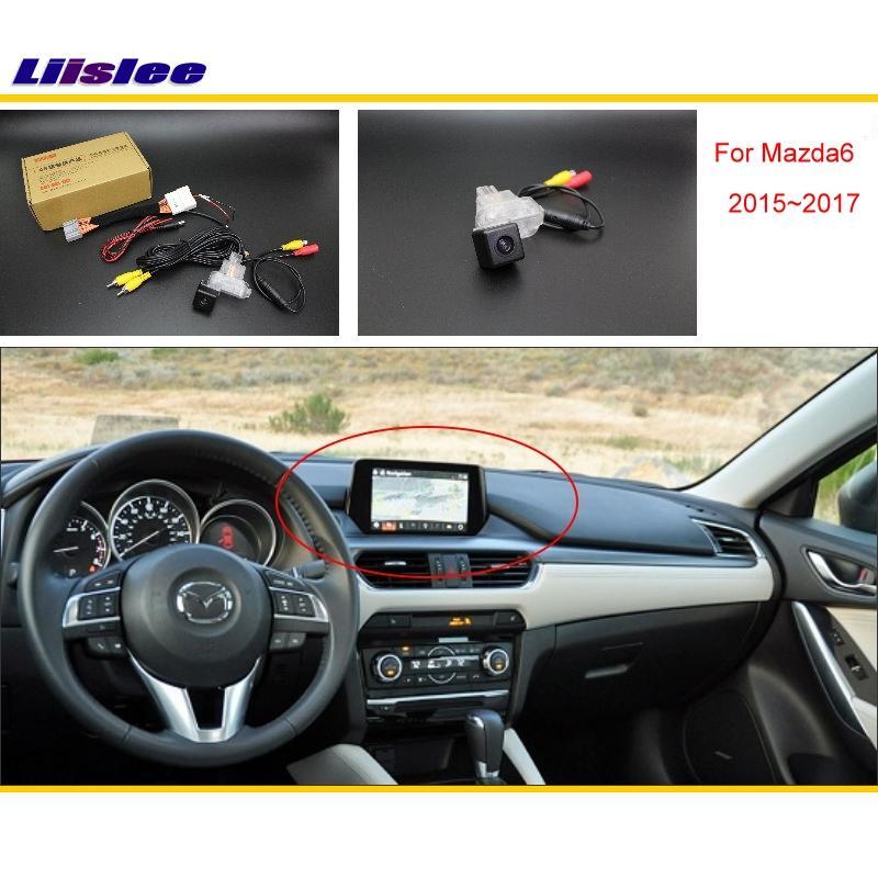 For Mazda 6 Mazda6 Atenza Hatchback 2013 2014 2015 RCA & Original Screen Compatible Rear View Camera / Back Up Reverse Camera