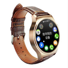 Mais novo gw01 bluetooth smart watch ips tela redonda vida smartwatch para apple ios telefones huawei android à prova d' água esportes