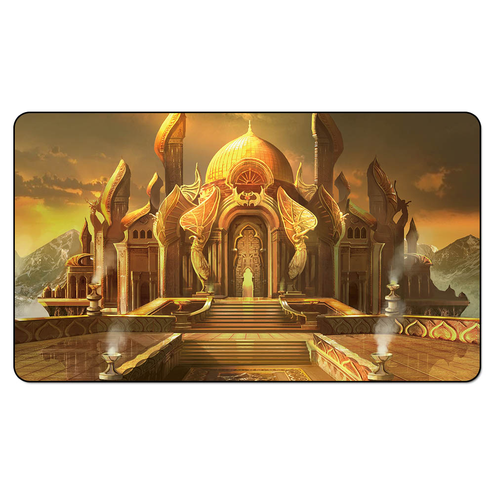 Magic City of Brass Playmat Maelstrom Pulse/DUELS OF THE PLANESWALKER/MODERN MASTER Playmat for Board Game image