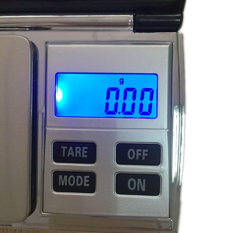 Precíziós 500G 0,01 g mini ékszer digitális mérleg hordozható - Mérőműszerek - Fénykép 5