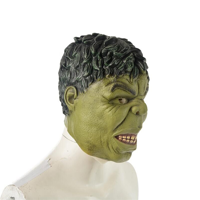 Avengers Robert Bruce Banner Incredible Hulk Mask Cosplay Costumes Prop Adult Latex Full Face Masks-in Boys Costume Accessories from Novelty u0026 Special Use ...  sc 1 st  AliExpress.com & Avengers Robert Bruce Banner Incredible Hulk Mask Cosplay Costumes ...