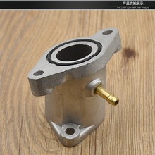 Motorcycle Carburetor intake manifold pipe joint for Yamaha YBR125 YBR 125 125cc Spare Parts yamaha 125 ybr125