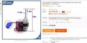 Image 5 - new  good working for Double door switch refrigerator fan motor motor D4612AAA22 D4612AAA18 D4612AAA21 = D4612AAA15
