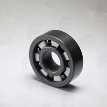 Бесплатная доставка высокое качество 6310 полный SI3N4 керамическая радиальный шарикоподшипник 50x110x27 мм