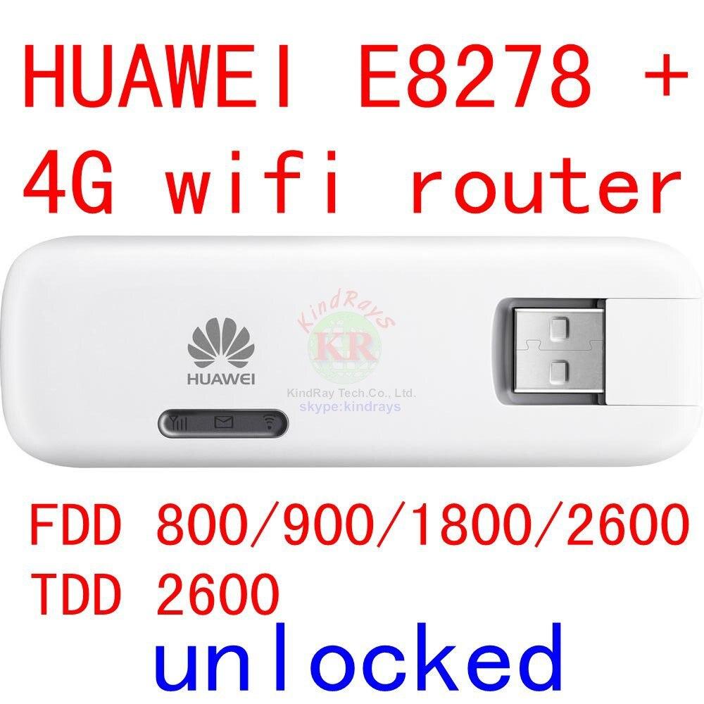 Débloqué Huawei E8278 E8278-602 4G wifi modem + routeur wifi 150 Mbps lte 4g mifi Modem lte 4g Dongle sans fil pk E3276 e8372