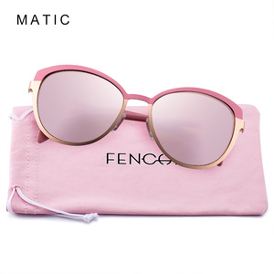 Image 4 - MATIC Pink Vintage Retro Pilot Driving Car Gradient Sunglasses For Womens Fashionable Ladies Makeup Cats Eye Sun Glasses Eyewear