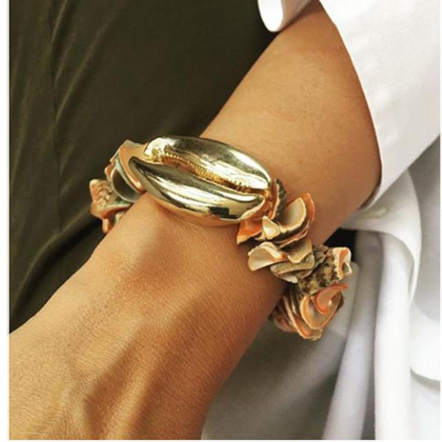 Bileklik pulseras mujer hombre puka COWRIE shell bransoletki dla kobiet prezent bijoux biżuteria czeski boho bransoletki bransoletki femme