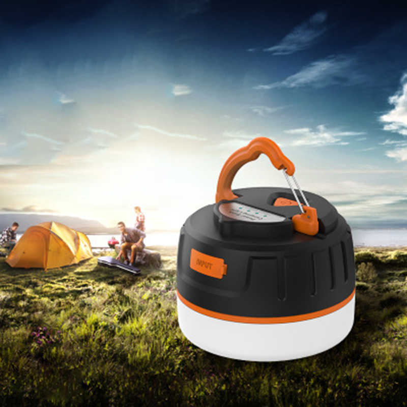 MIni Ultra Bright 5200mAh Led Lightweight Camping Lanterns Light For Hiking Camping Emergencies Protable Lantern Power Bank Lamp