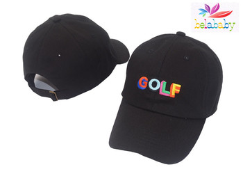 385a9ca7622 Belababy 2017 Dad Hat Golf Tyler The Creator Snapback Casquette Bone Gorras  Black Tactical Baseball Cap