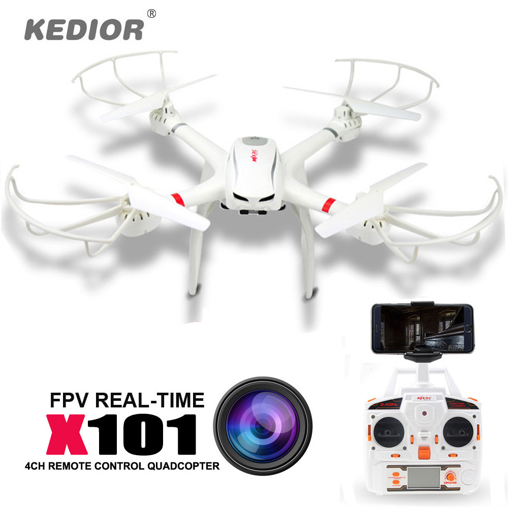 MJX X101 Professional drones RC Helicopter drone quadcopter gopro can Add c4008 720P HD Wifi FPV camera