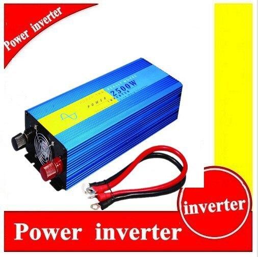 цена на onduleur solaire hybride 2kw Solar Inverter 2500W Pure Sine Wave Inverter 220/230/240V Solar Wind Inverter 2500W
