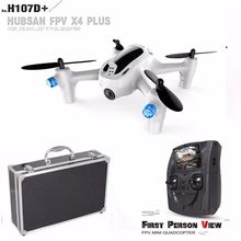 Free Shipping! Hubsan FPV X4 Plus H107D+ 2.4Ghz RC Quadcopter w/720P Camera+Remote Control+Case