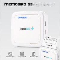 GOOJPRT G3 MEMOBIRD Printer Mini Wireless Bluetooth Paper Photo Ticket Printer Portable Thermal Printing Label Printer