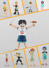 12CM Japanese Anime One Piece Rebecca Luffy Zoro Nami Sanji Robin Usopp Franky Childhood ver. PVC Action Figure(China)