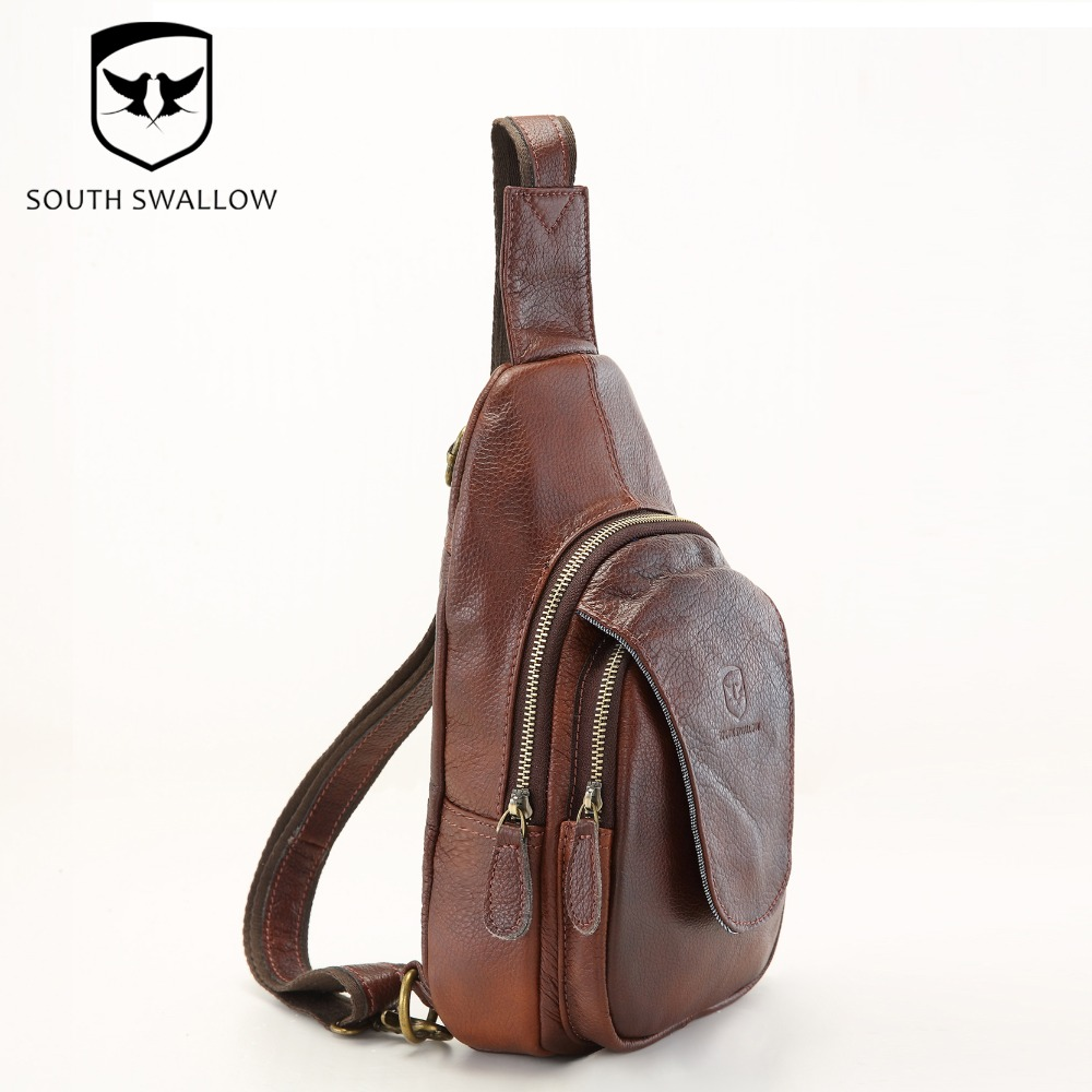 Aliexpress.com : Buy Hot Sales New Fashion Men's Chest Bag Leather ...