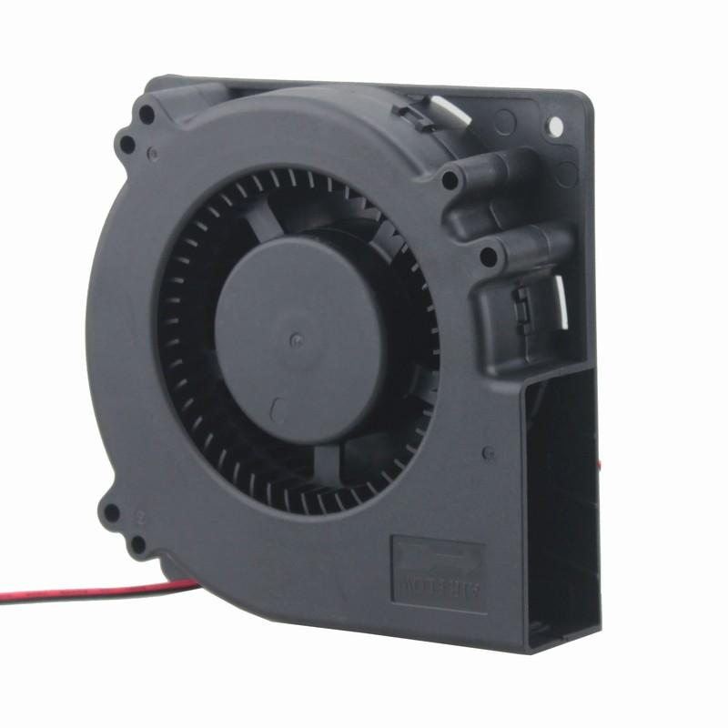 1 piece Gdstime 5 inch Blower Fan 120mm x 32mm 2Pin 2 Wire DC Brushless Cooling Fan 24V 12032 120x120x32mm 2pcs gdstime dc 24v 140mm x 25mmbrushless cooler cooling fan 5 5 inch 14cm 140x140x25mm big