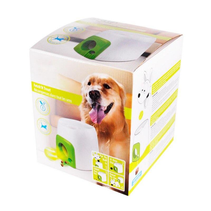 Friandises récompenses formation jouet pour animaux de compagnie chiens jouets animaux de compagnie chiens Intelligence chiot 2 en 1 interactif balle jouets chien accessoires