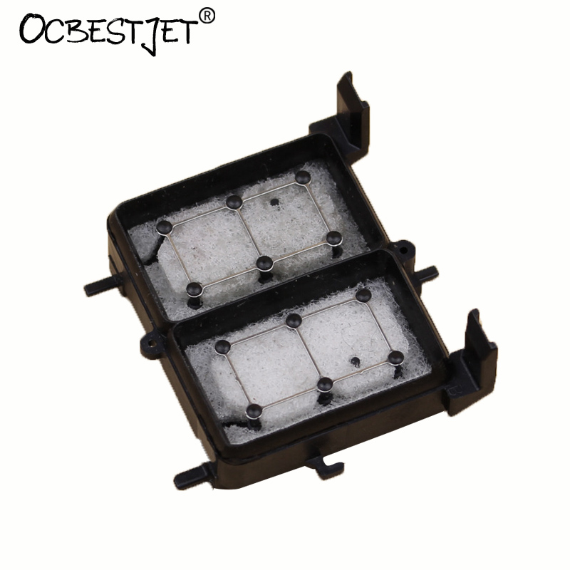 2 Pieces Capping Station Cap Top Capping Unit For Epson R1800 R1900 R2000 R2400 R2880 Priner