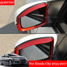 Car Styling 2Pcs/Set ABS Car Rearview Mirror Rain Eyebrow Shield Cover  Protector Aotu Accessories Good Looking