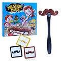 Bigotes del bigote de Smash divertido bigote Pass Card niños juego de la familia