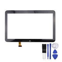 10.1 pulgadas de Pantalla Táctil para Texet TM-1057 Tablet PC Digitalizador Del Sensor de Reemplazo de Cristal Del Panel Envío Gratis