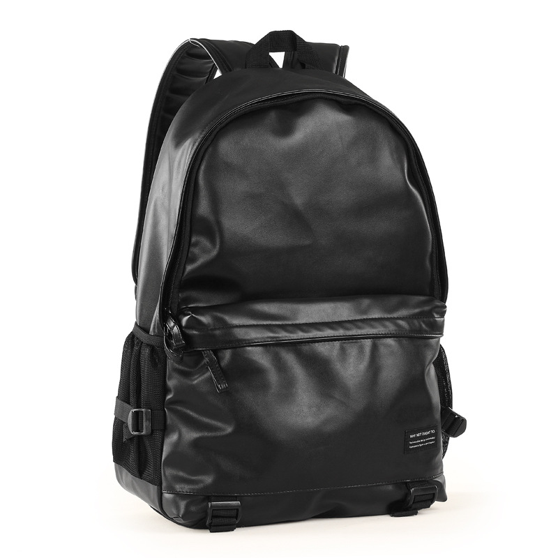 ФОТО 2016 New Arrival  Fashion PU Leather Men Backpack Preppy Style School Bags for Teenagers Casual high school bags mochila hombre