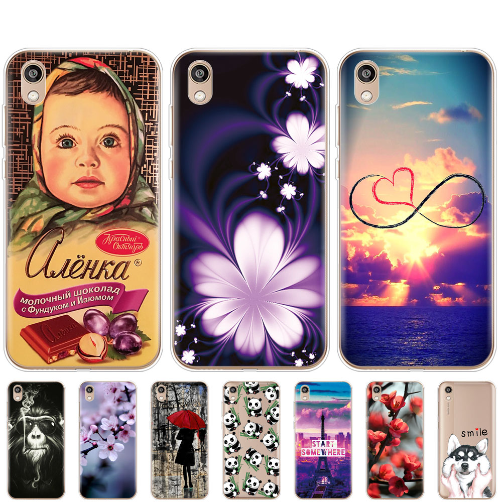 Case for Honor 8S Case cover phone Soft TPU fundas For Huawei Honor 8S KSE-LX9 Honor8S 8 S Cover 5.71