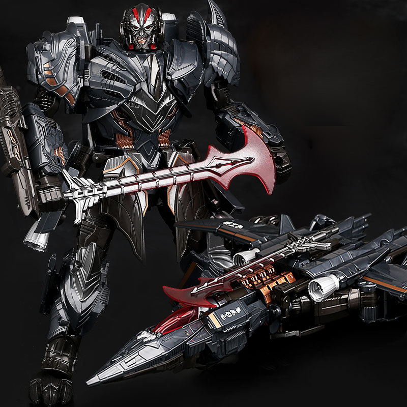29cm Transformation The Last Knight MW Galvatron Movie 5 Alloy Oversize Enlarge Plane Action Figure Leader