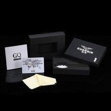 Original GUANQIN Men Quartz Watch Luminous Famous Brand Men Business Watch Waterproof Watches Clock Stainless Steel Wristwatches