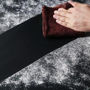 Image 5 - ブラック68 × 130センチ27*51インチの写真撮影の背景紙マットpvcビニールシームレス背景シームレス水 証拠