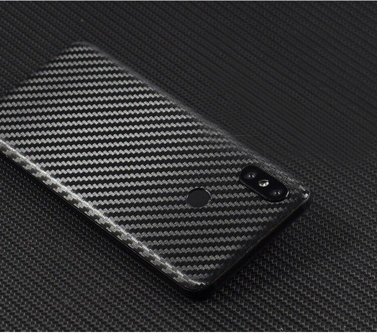 3D Carbon Fiber Skins Protective Film Wrap Skin Phone Back Paste Sticker For XIAOMI Mi8/Mi8 SE/Mi6x/Mix 2S/Mix/Redmi Note 5 Pro