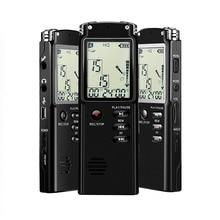 NOYAZU T60 Digital Audio Voice Recorder 16GB 1536kbps Dictaphone Original Voice Recorder USB Professional 96 Hours Mp3 Player