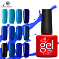 Saviland 1pcs Blue Series Gel Nail Polish Semi Permanent Glitter Nail Gel Lacquer Long Lasting UV LED Gel Lak Nail Art Design