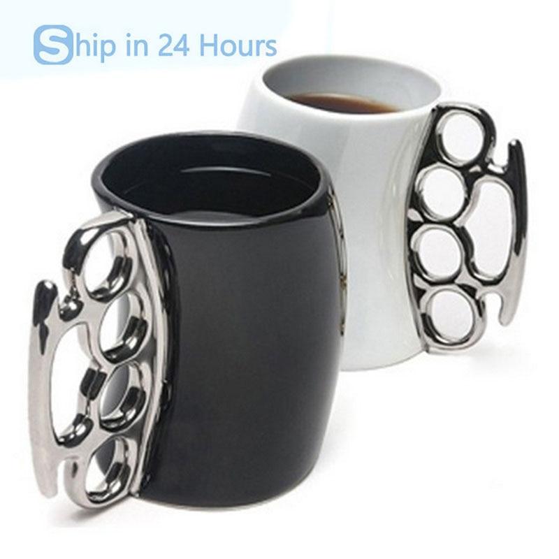 Creative Wacky Heavy Ceramic <font><b>Cups</b></font> And Mugs Shaped Bent <font><b>Over</b></font> Boxing Porcelain Mug For <font><b>Coffee</b></font> Tea Milk