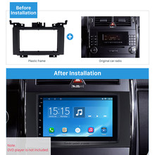 Seicane 2 Din Car Radio Fascia DVD de instalación Trim 2006 Benz Sprinter VW Crafter Volkswagen de Audio Kit de cubierta(China)
