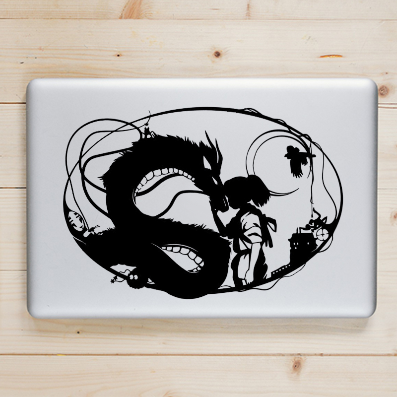 Spirited Away Anime Laptop Decal Sticker for font b Apple b font font b Macbook b