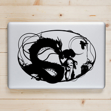 Spirited Away Anime Laptop Decal Sticker for Apple Macbook Pro Air Retina 11 12 13 14 15 inch Mac Book Skin HP Notebook Sticker