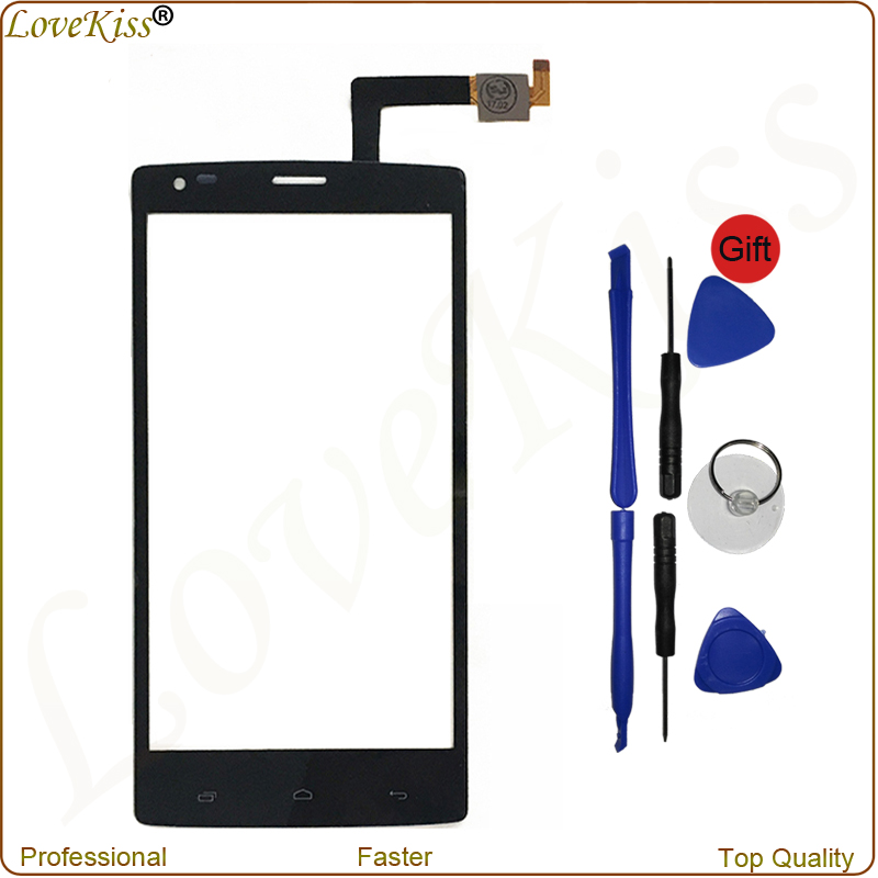 For Fly IQ4505 Quad Era Life 7 IQ 4505 5 Front Touch Panel TouchScreen Sensor Digitizer LCD Outer Glass Lens Repair Parts Tools