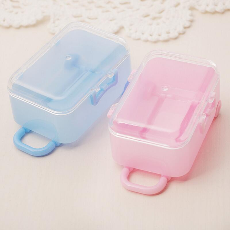 12pcs lot New Creative DIY Trolley Box Shape Transparent Plastic Candy Box Wedding Favors Birthday Party Gift Box in Gift Bags Wrapping Supplies from Home Garden