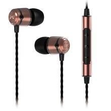 Горячие SoundMAGIC E50C золото супер бас звук наушники HIFI наушники стерео наушники-вкладыши с микрофоном и пультом дистанционного управления для всех смартфонов