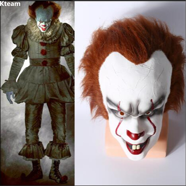 2017 new movie halloween pennywise clown mask it masks classic scary