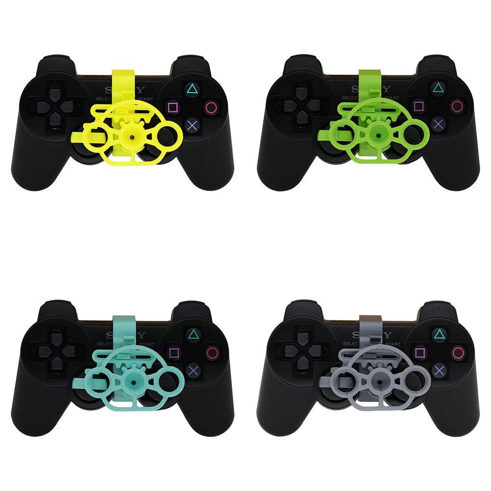 PS3 Gaming Racing Wheel, 3D printed mini steering wheel add on for the PlayStation 3 controller-in Replacement Parts & Accessories from Consumer Electronics
