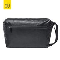2018 XIAOMI 90FUN Stylish Urban Messenger Bag Water Resistant 14 inch Laptop Bag Casual Crossbody Black Orange Blue women men