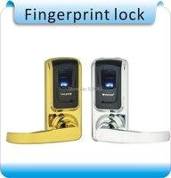 DIY g808 офиса безопасности металлический корпус отпечатков пальцев замок + key lock/контроля доступа отпечатков пальцев замок с батареей
