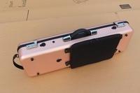 4/4 Violin Case Carbon Fiber gold Two Code lock Weight bearing 150kg #G01