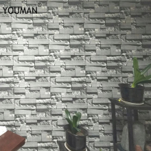 цена на Suppliers High Quality stone wall paper faux brick wallpaper 3d Living Room wallpaper Sofa TV Background 3d brick wallpaper